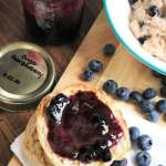 Blueberry Pear Ginger Jam #homemade #canning