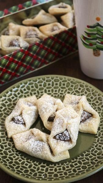 Pecan Kolaczki Cookies