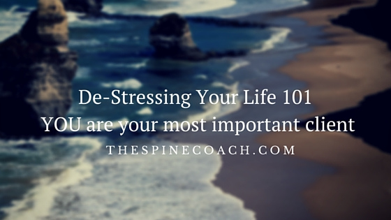 De-Stressing Your Life 101 YOU are your