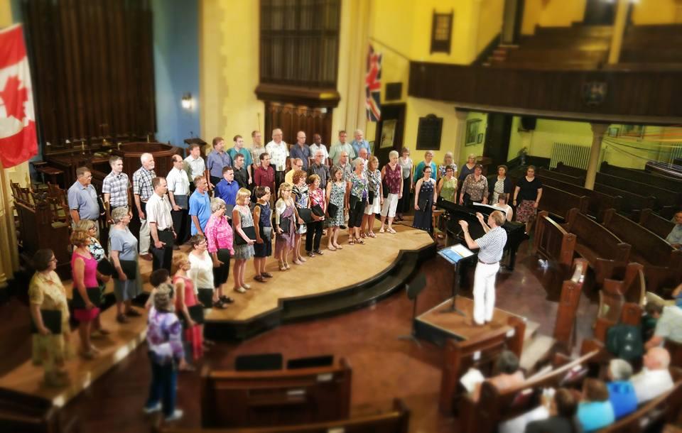 Cantabile Choirs of Kingston. Image: Cantabile Choirs