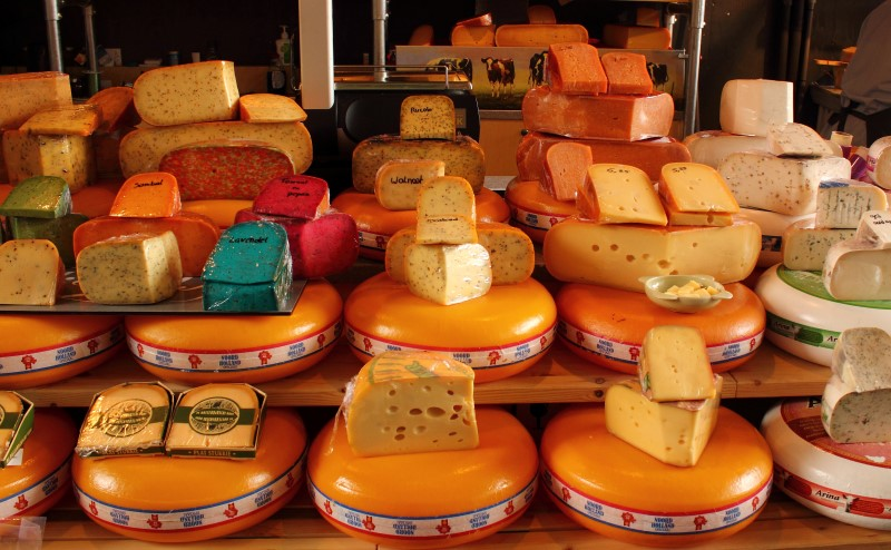 The variety of Dutch cheeses is enormous