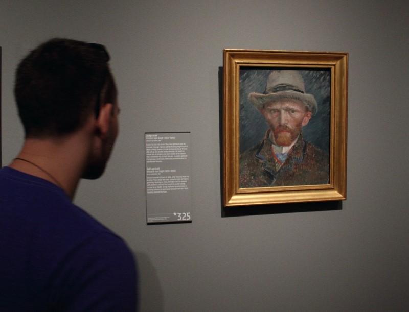 Selfie by Vincent van Gogh