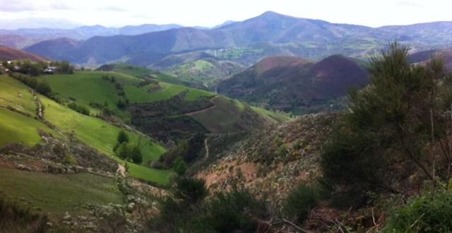 Cebreiro Pass on the Camino de Santiago