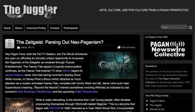 Juggler Pagan Blog
