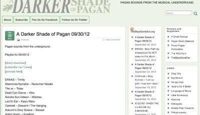 Darker Shade of Pagan Pagan Blog