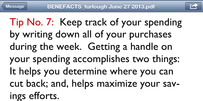 Financial tip #7