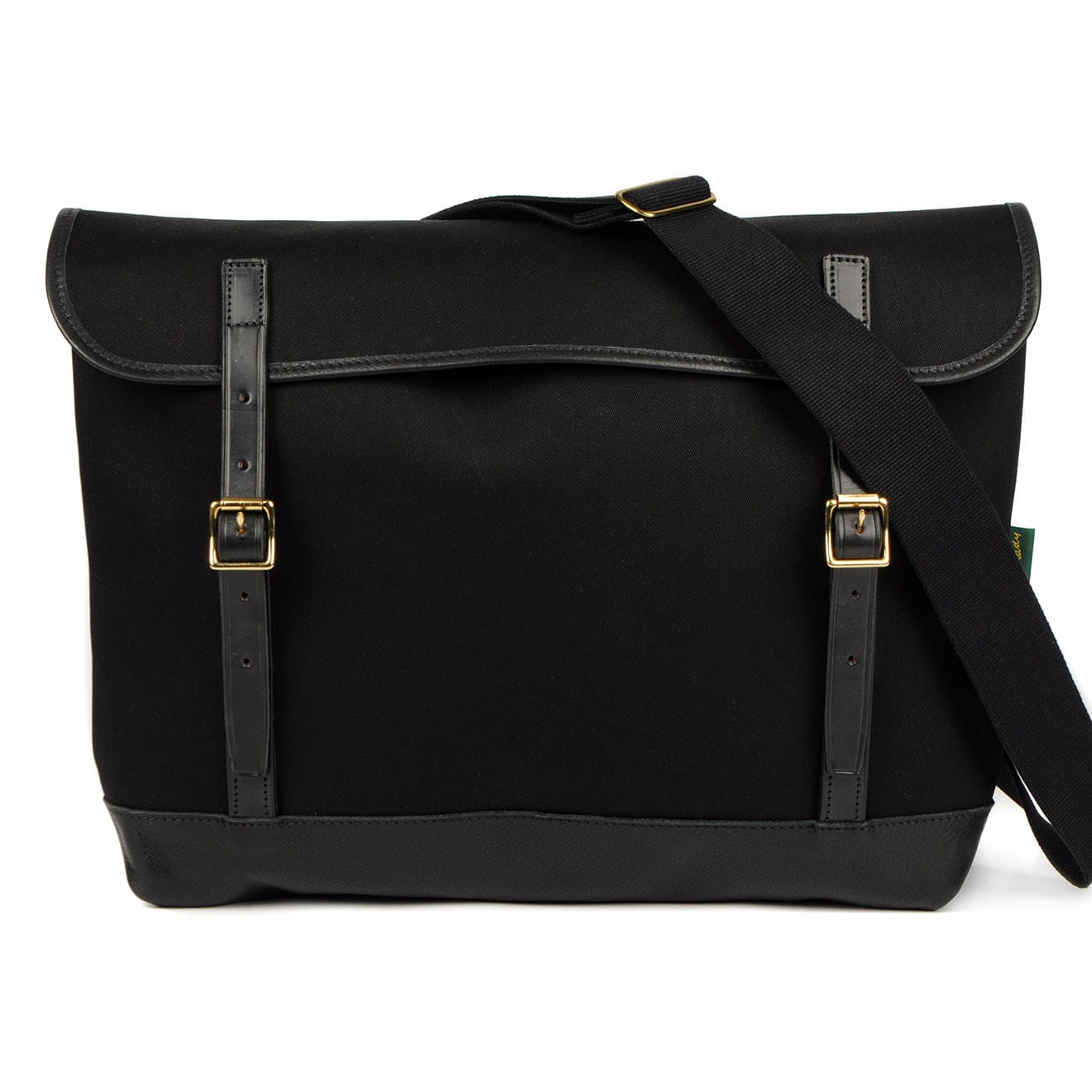 Brady Maclaren Shoulder Bag Black Leather