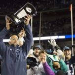 Few picked PSU to win the Big Ten East. But they did. (photo, Daily Collegian)