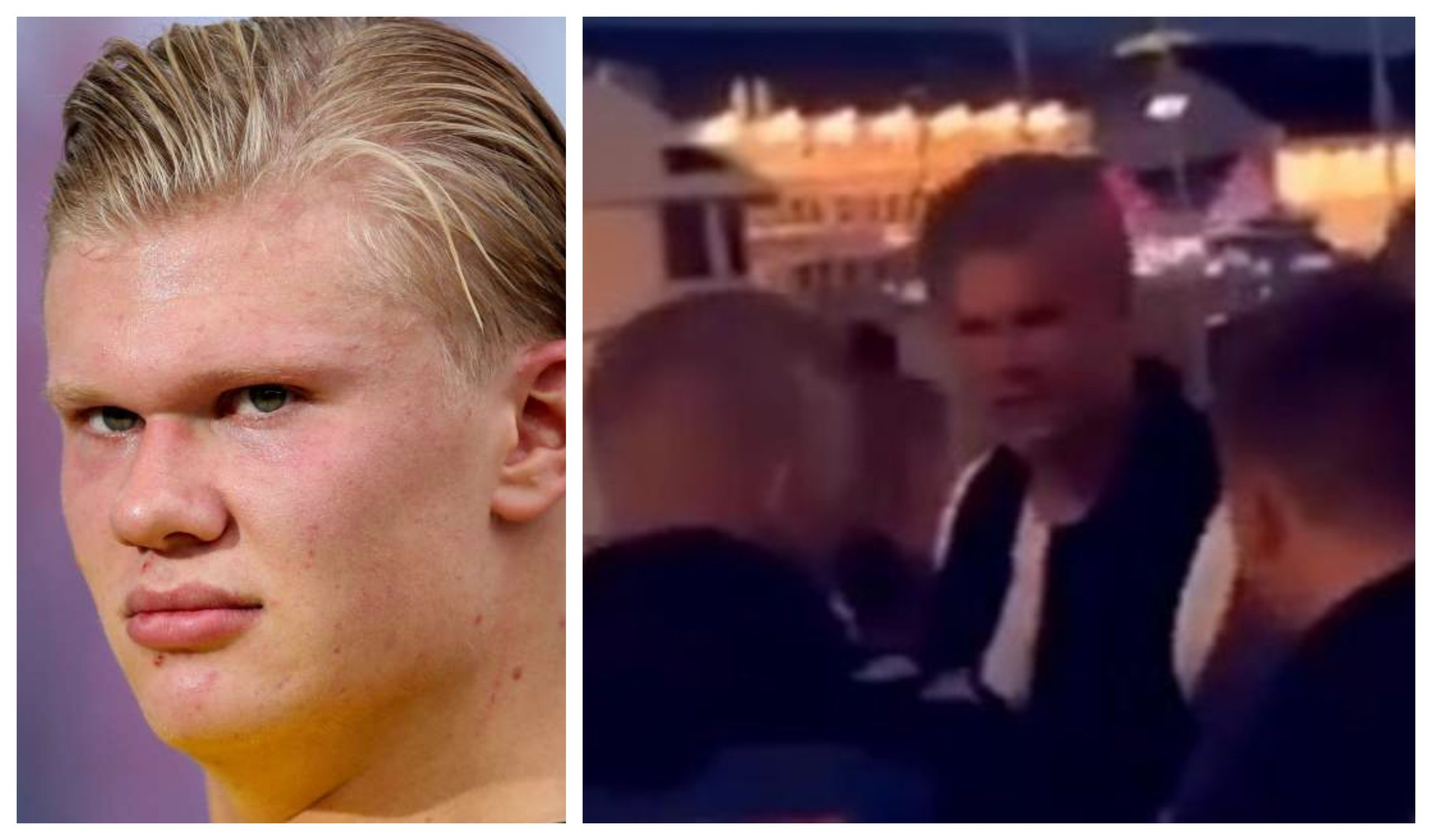 Man Marked Erling Blaut Haaland Kicked Out Of A Nightclub In Norway