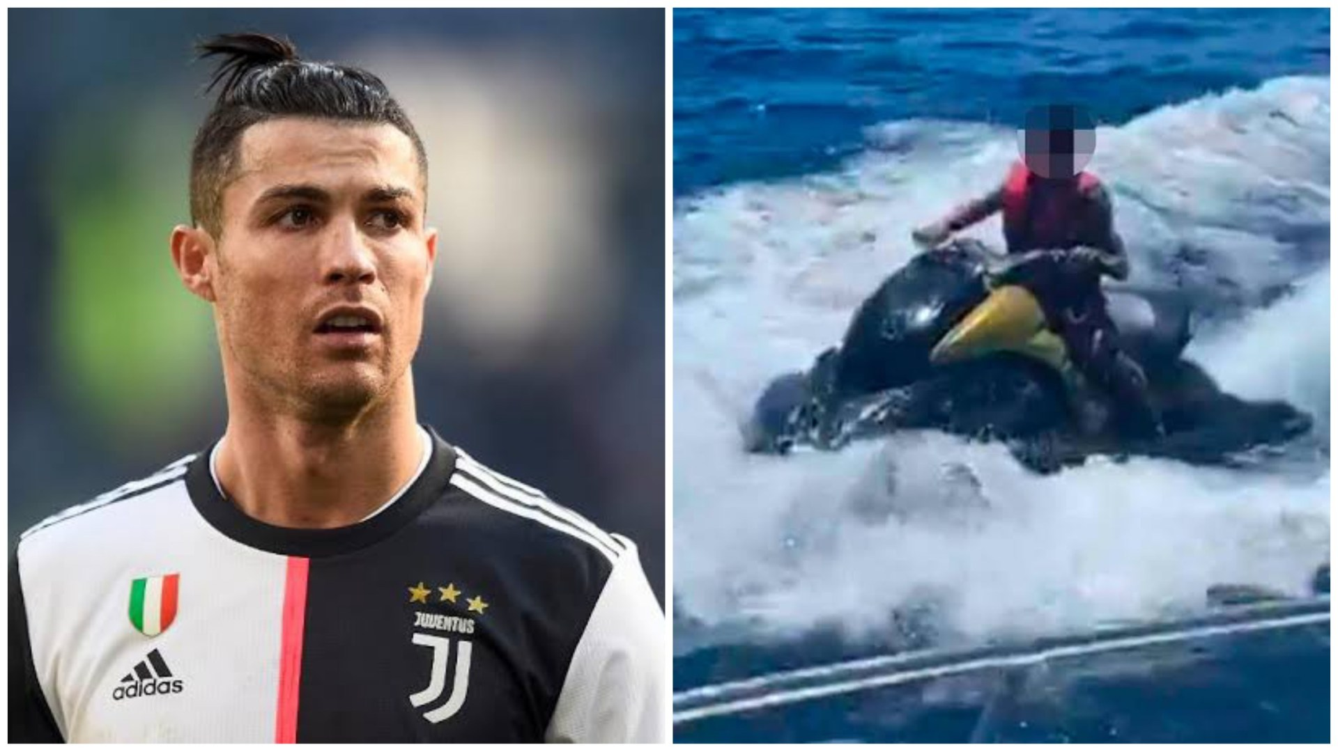 Police get involved as Cristiano Ronaldo's 10 year old son caught jet skiing alone! - THE SPORTS ROOM