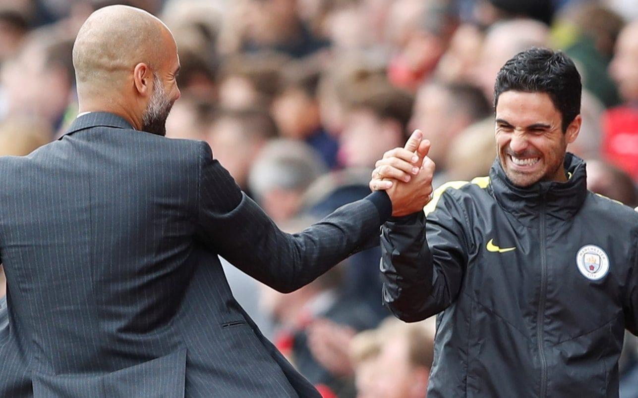 The student turns teacher-Pep Guardiola claims he learned lot from exceptional Mikel Arteta - THE SPORTS ROOM