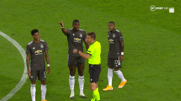 Manchester United exit Europa League as referee error allows Sevilla goal - THE SPORTS ROOM