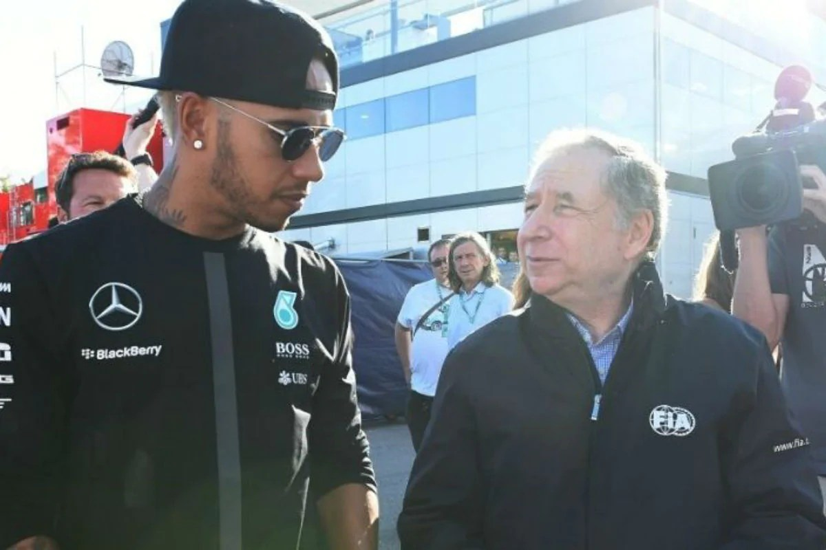 "F1 boss Jean Todt ""admires"" and ""respects"" Lewis Hamilton for promoting his stance on anti-racism - THE SPORTS ROOM"
