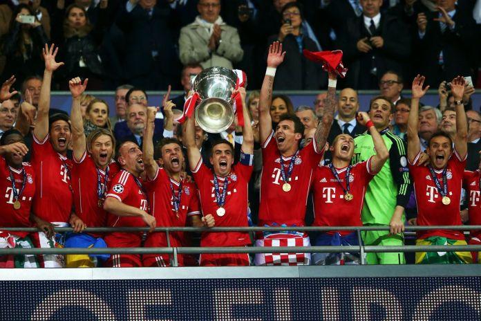 Bayern Munich beat Borussia Dortmund in the 2013 UCL final.