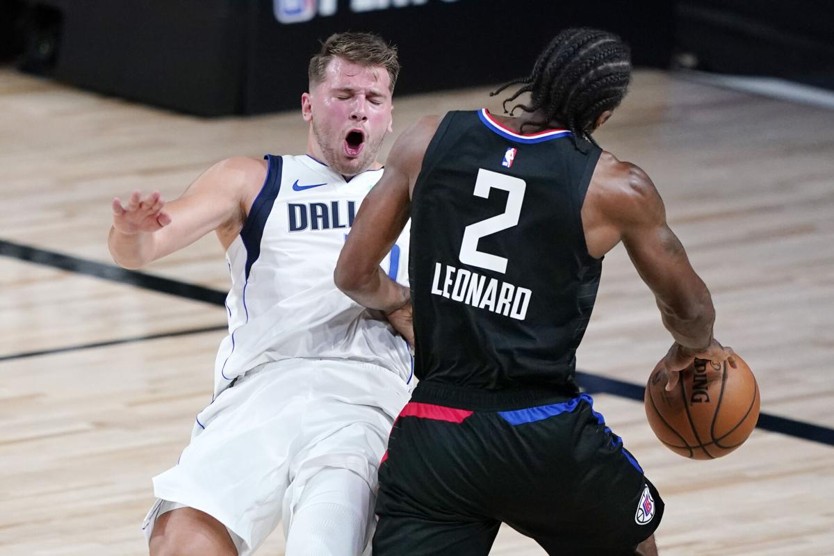 NBA Western Conference Playoffs 2020 : Clippers Hold on to take 2-1 Lead vs Mavs as Luka Doncic suffers ankle injury - THE SPORTS ROOM