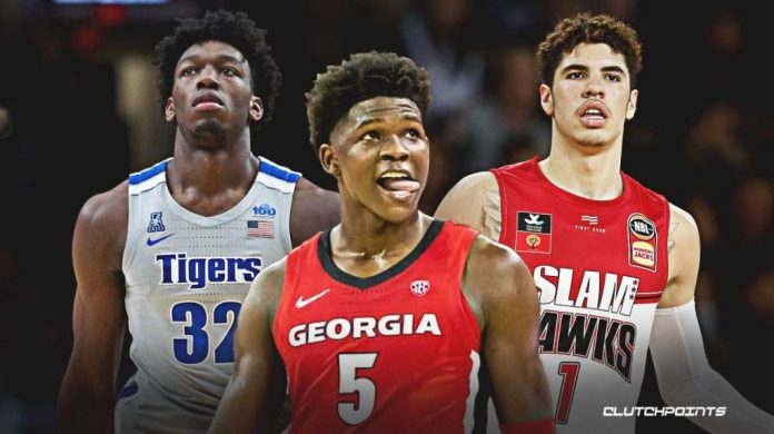 NBA draft 2020 : Favourites for the top pick