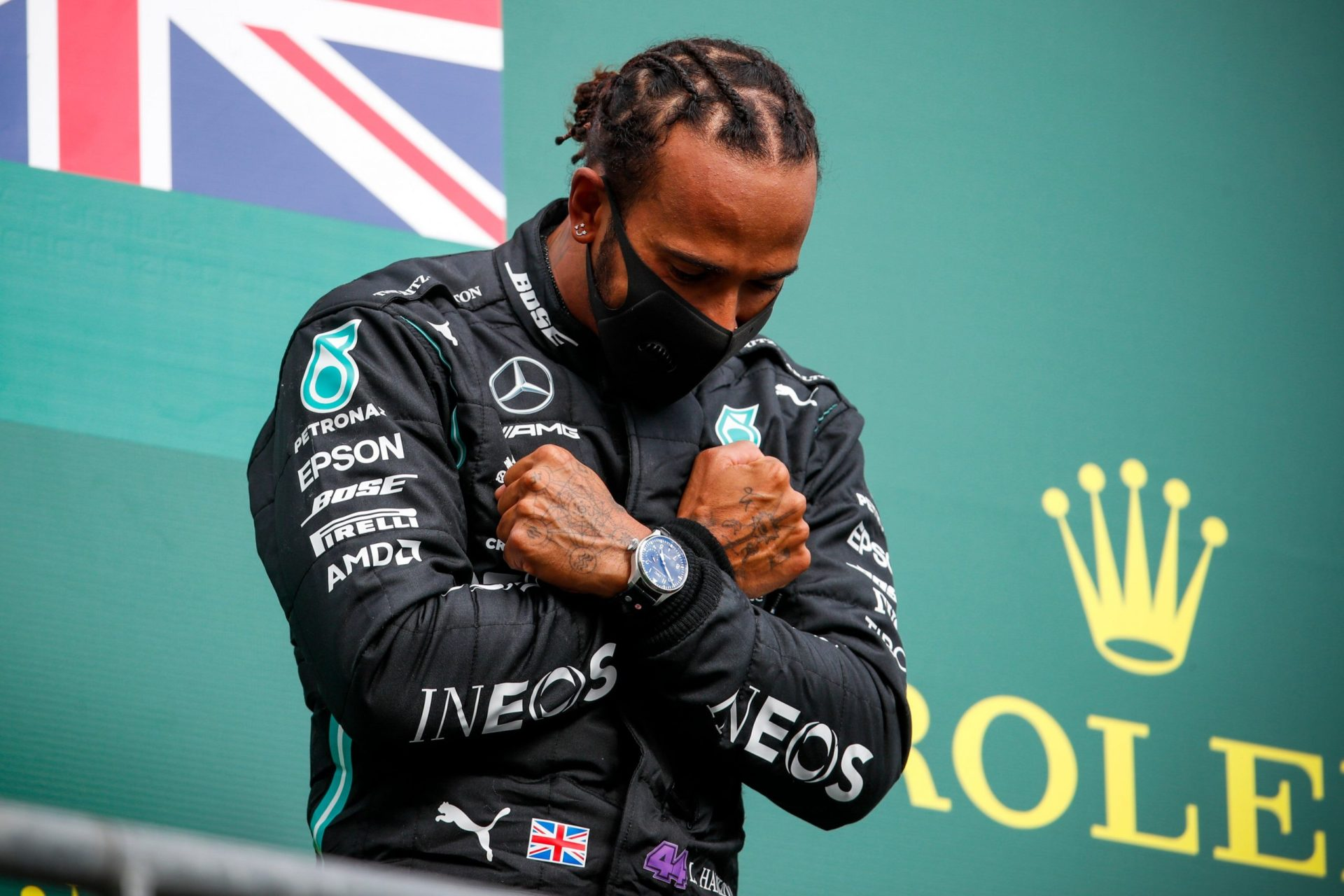 Formula 1: Lewis Hamilton dedicates Belgian GP win to Chadwick Boseman after dominating in Spa - THE SPORTS ROOM