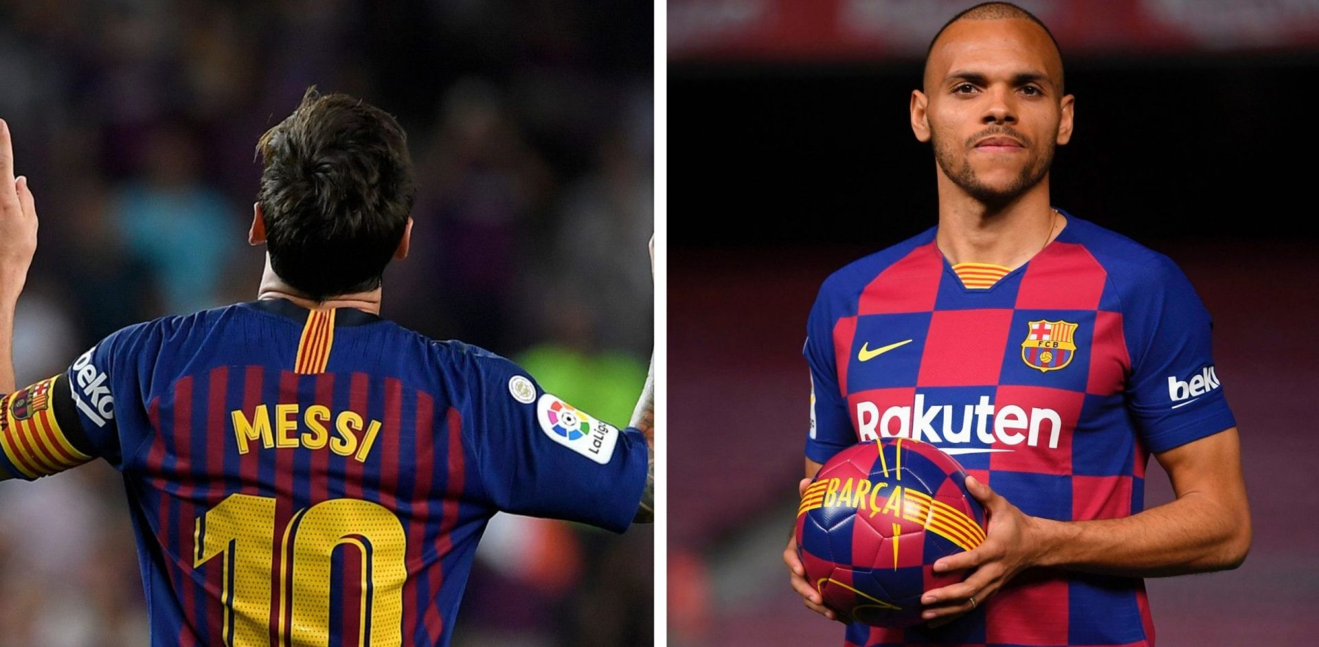 A new messiah?: Braithwaite wants Blaugrana No.10 should Messi leave - THE SPORTS ROOM