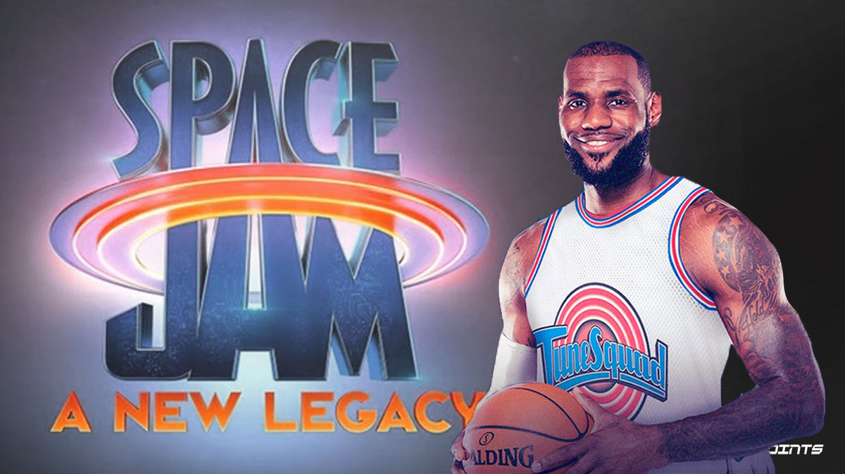 LeBron James Unveils New Tune Squad Jersey for Space Jam 2 - THE SPORTS ROOM