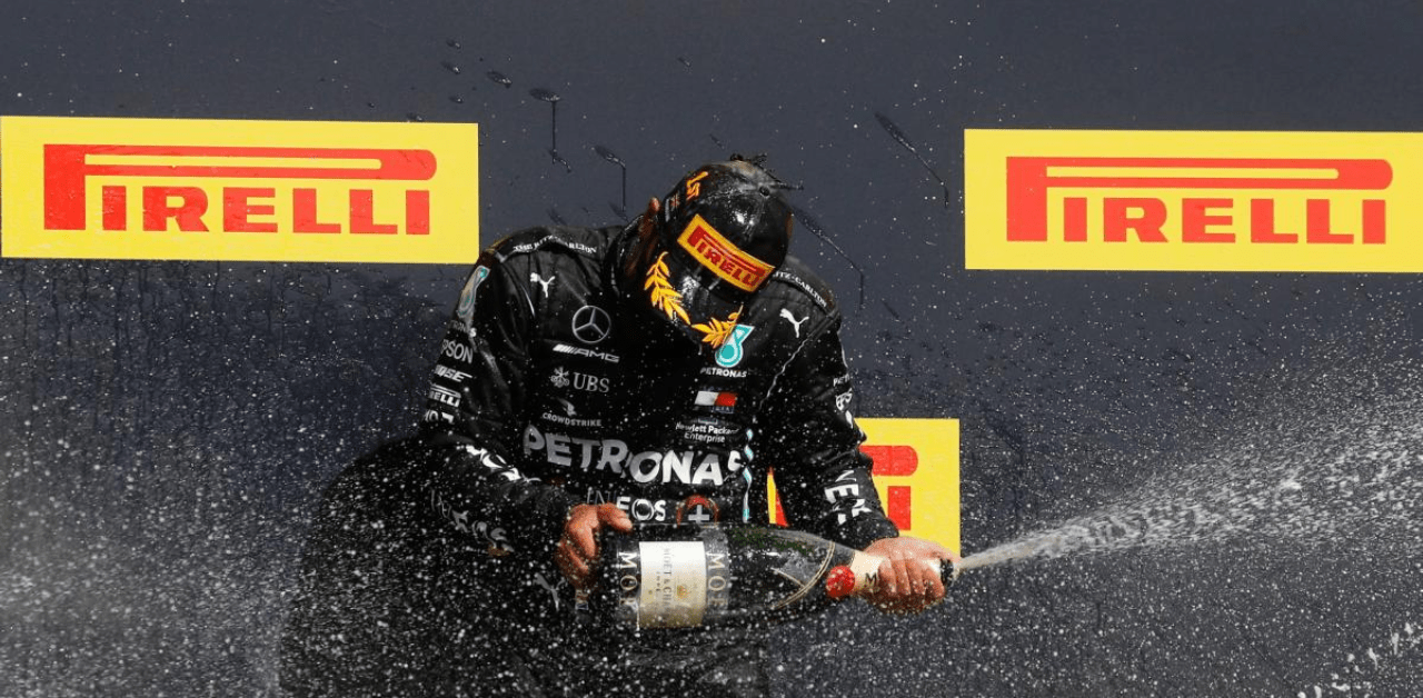 Spanish GP: Lewis Hamilton beats Max Verstappen to extend title lead - THE SPORTS ROOM