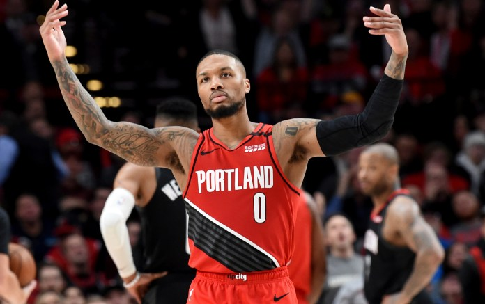 Lillard and his men move to the NBA play-in series vs the Grizzlies.