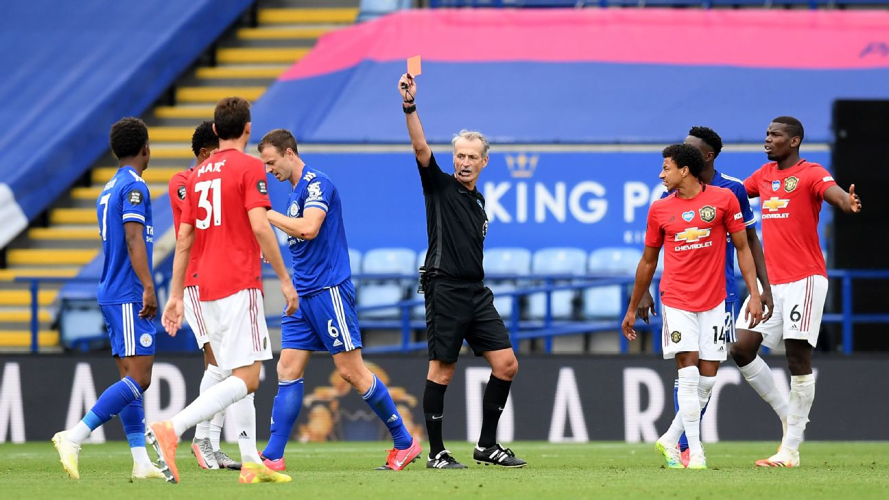 """The Corona Effect: New FA rules make """"deliberate"""" coughing on the field a red card offence - THE SPORTS ROOM"""