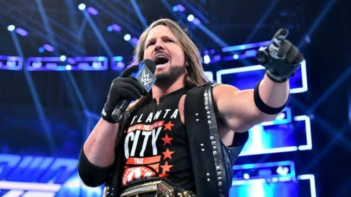 AJ Styles names late WWE superstar he wanted to have a bout with - THE SPORTS ROOM