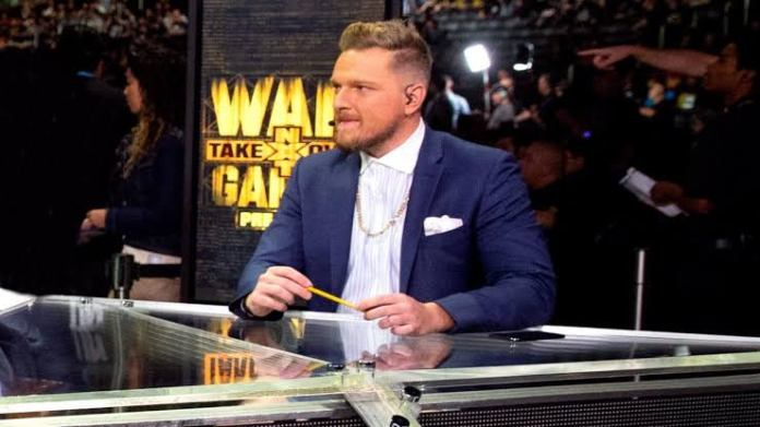 Adam Cole claims Pat McAfee doesn't belong in WWE NXT - THE SPORTS ROOM