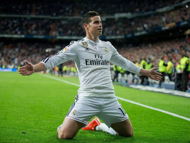 Real Madrid star James Rodríguez closing in on a move to Everton - THE SPORTS ROOM