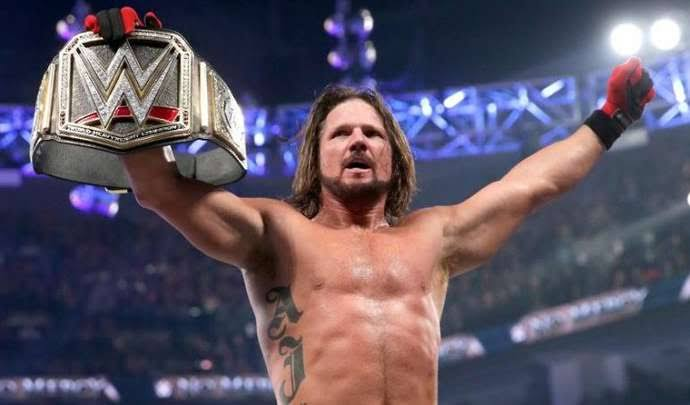 AJ Styles names WWE superstar he wants to face before retiring - THE SPORTS ROOM