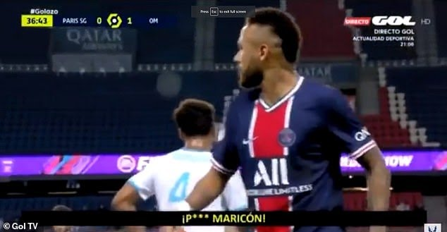 How the turntables: Neymar accused of using a homophobic slur during Marseille clash - THE SPORTS ROOM