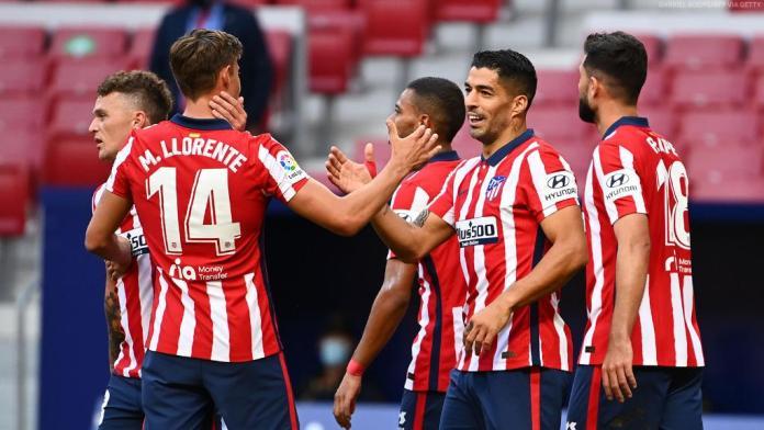 Phenomenal Pistolero: Luis Suárez scores a brace in his debut as Atlético routs Granada 6-1 - THE SPORTS ROOM