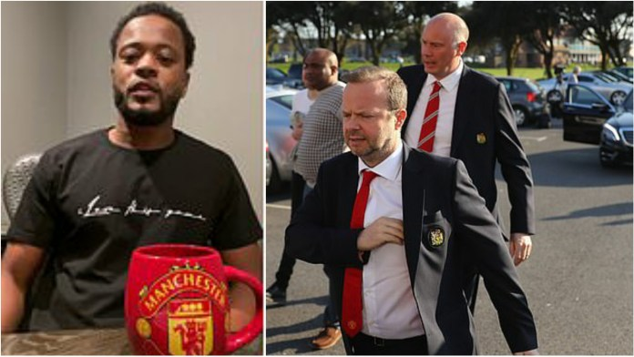Patrice Evra makes a scathing statement about the club's higher authorities - THE SPORTS ROOM