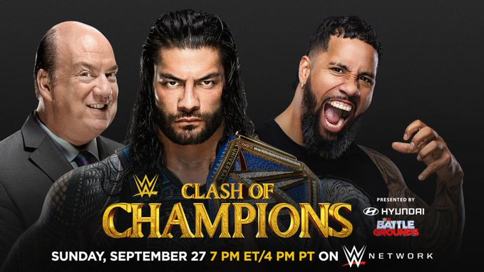 Cousin vs Cousin match set for Clash Of Champions for the Universal title - THE SPORTS ROOM