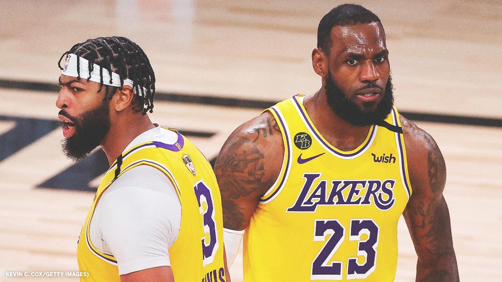 NBA Finals: A dominating Anthony Davis helps Lakers trounce Heat 116-98 in Game 1 - THE SPORTS ROOM