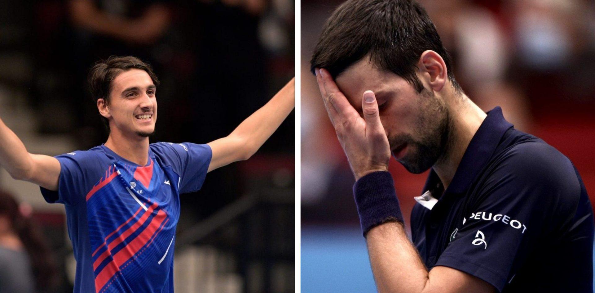 A break on Djoker's juggernaut-Novak Djokovic suffers stunning loss in the Vienna Open - THE SPORTS ROOM