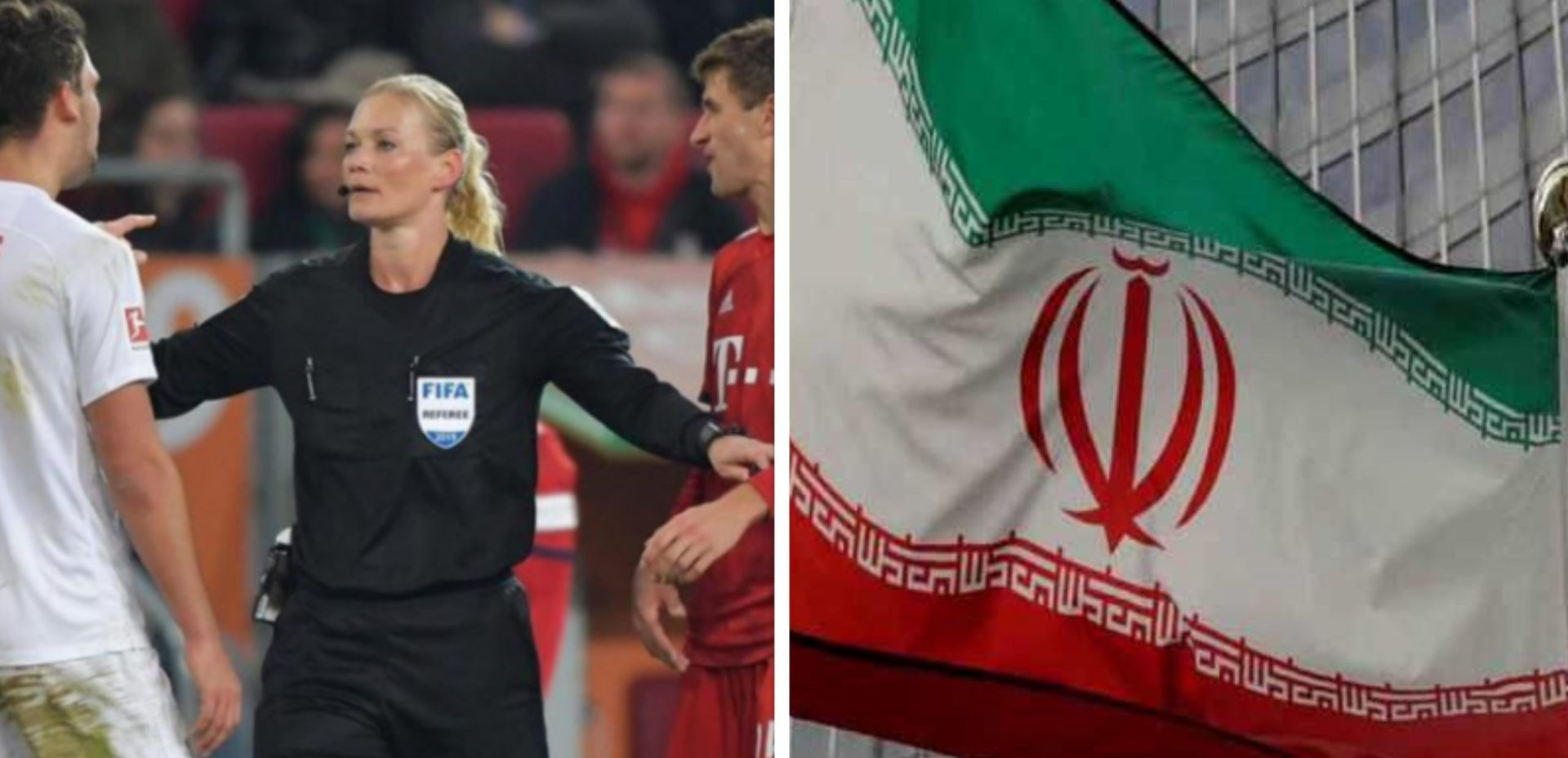 No Eves in football?: Iran's state channel cancels DFL supercup broadcast over a female referee - THE SPORTS ROOM