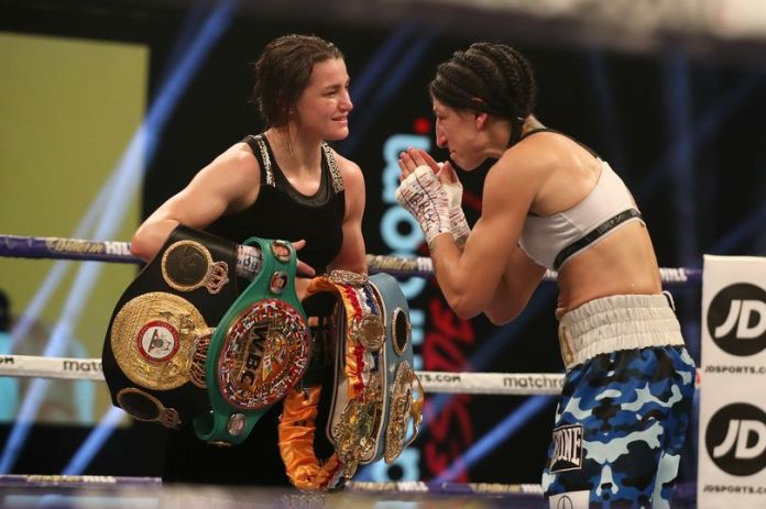 Katie Taylor becomes the number 1 pound-for-pound female boxer in the world - THE SPORTS ROOM