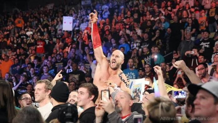 Cesaro opens up on his experience of wrestling in the absence of fans amid COVID-19 - THE SPORTS ROOM