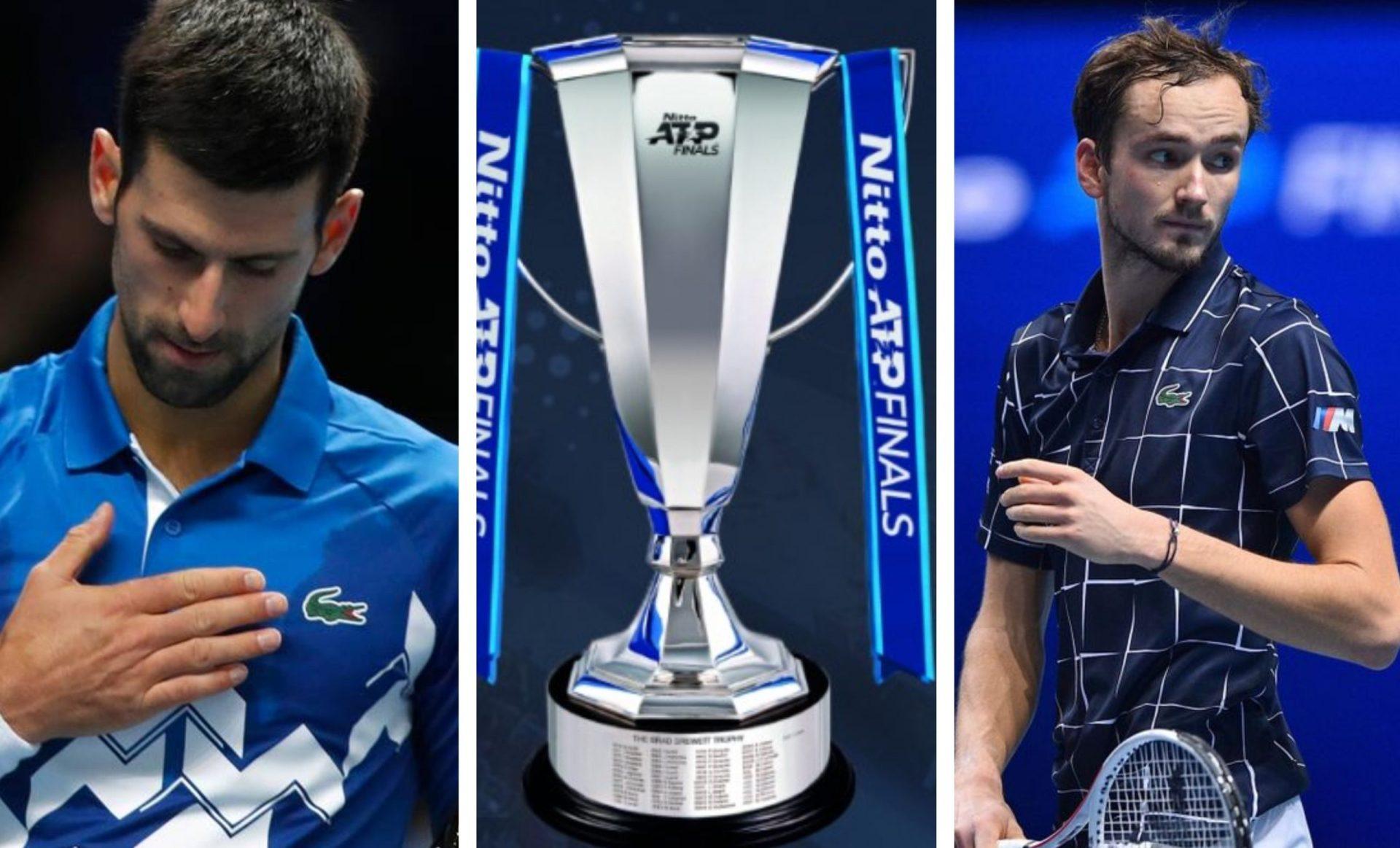 NextGen ascending-Mighty Medvedev breaks the Djoker juggernaught in ATP Finals - THE SPORTS ROOM