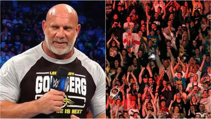 Goldberg feels wrestling fans have grown to be less respectful over the years - THE SPORTS ROOM