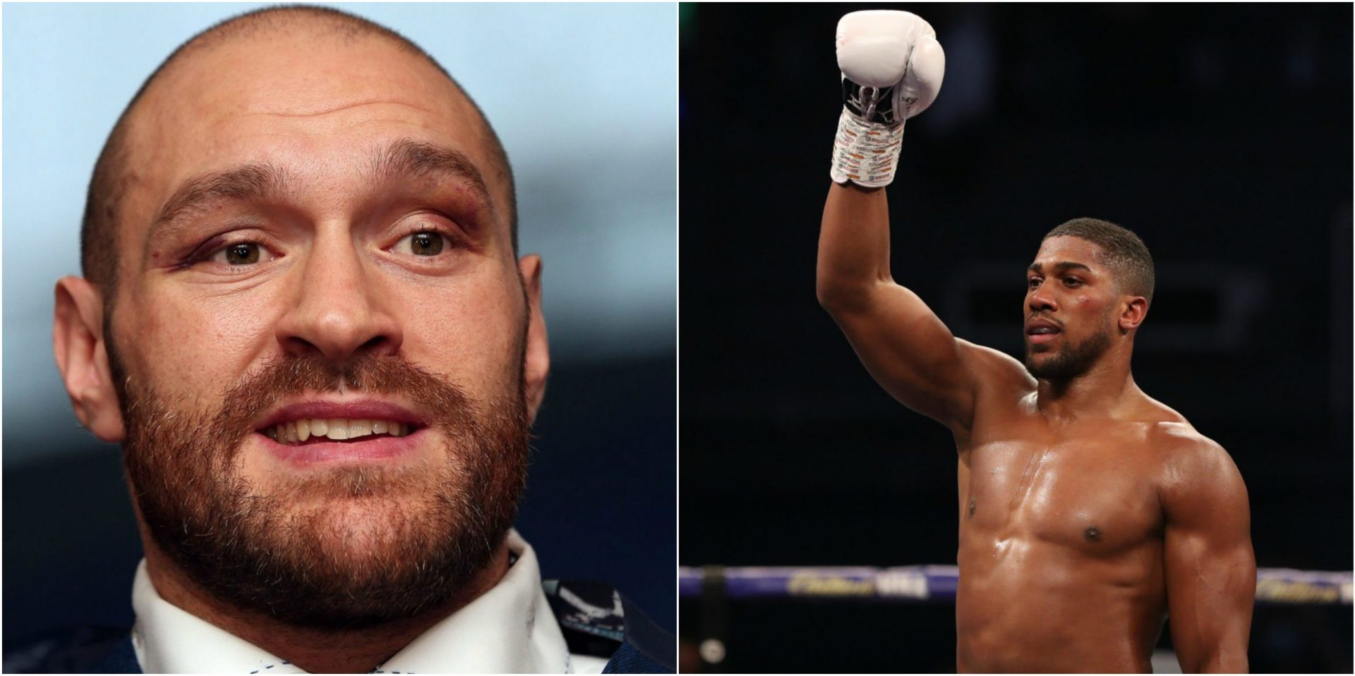 Tyson Fury challenges Anthony Joshua, claims victory by 3-round KO - THE SPORTS ROOM