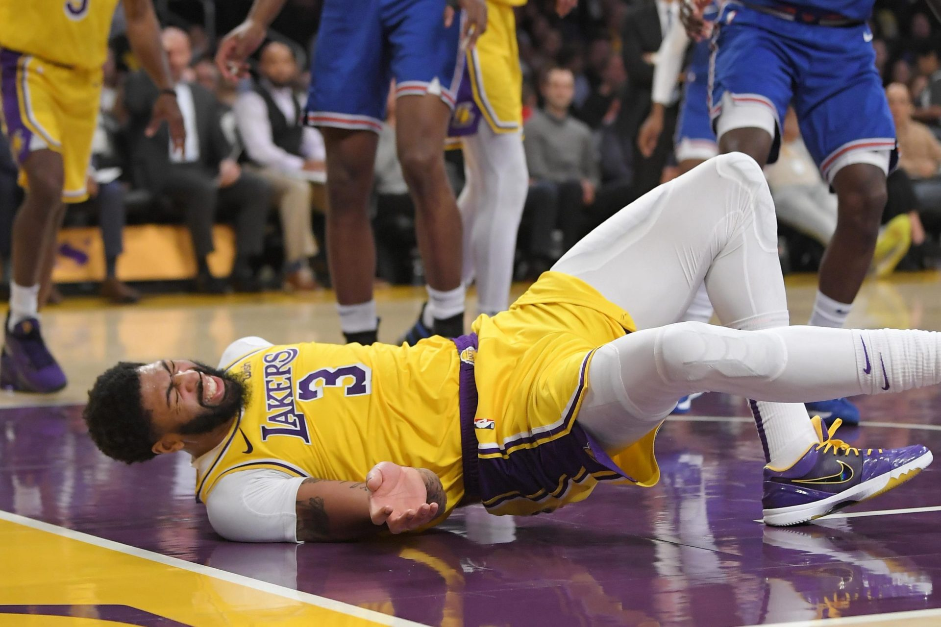 Anthony Davis sidelined with a calf contusion, set to miss game vs. Wolves - THE SPORTS ROOM
