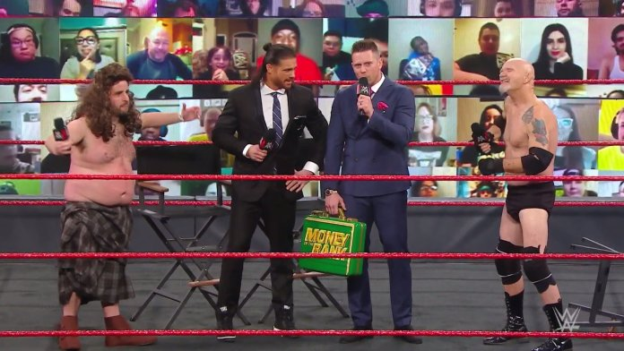 Drew McInfart: David Krumholtz's new avatar appears on WWE Raw - THE SPORTS ROOM