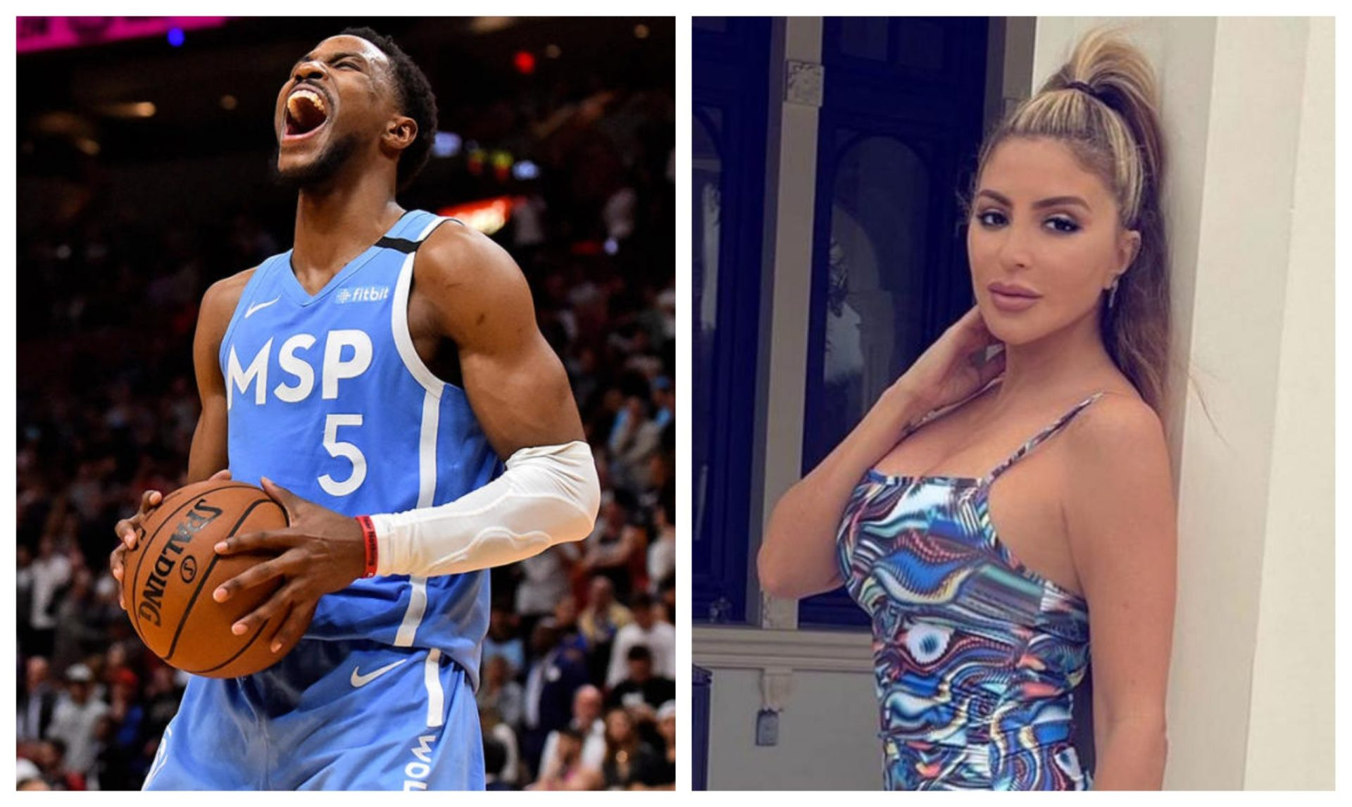 Larsa Pippen clarifies her relationship with Timberwolves' Malik Beasley - THE SPORTS ROOM