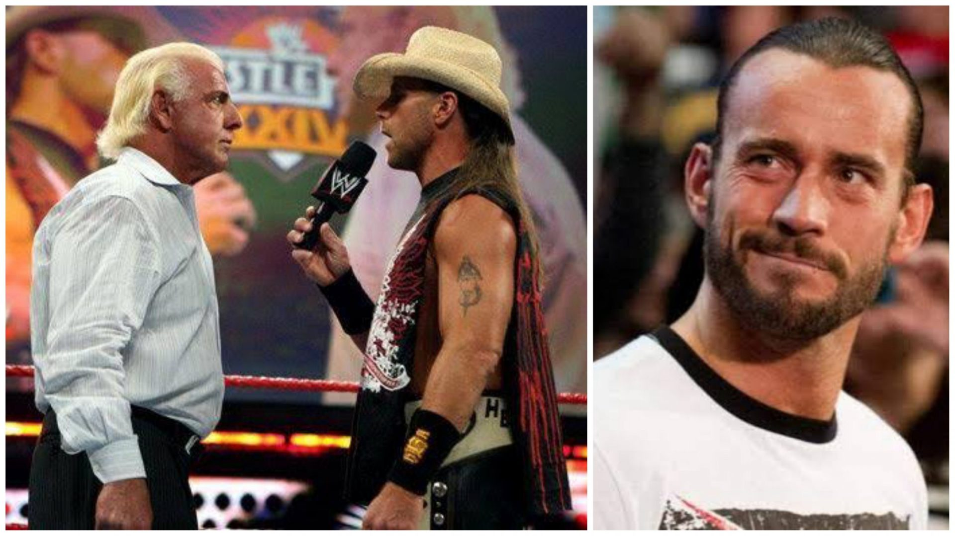 CM Punk disagrees to Ric Flair calling HBK the greatest in-ring performer of all time - THE SPORTS ROOM