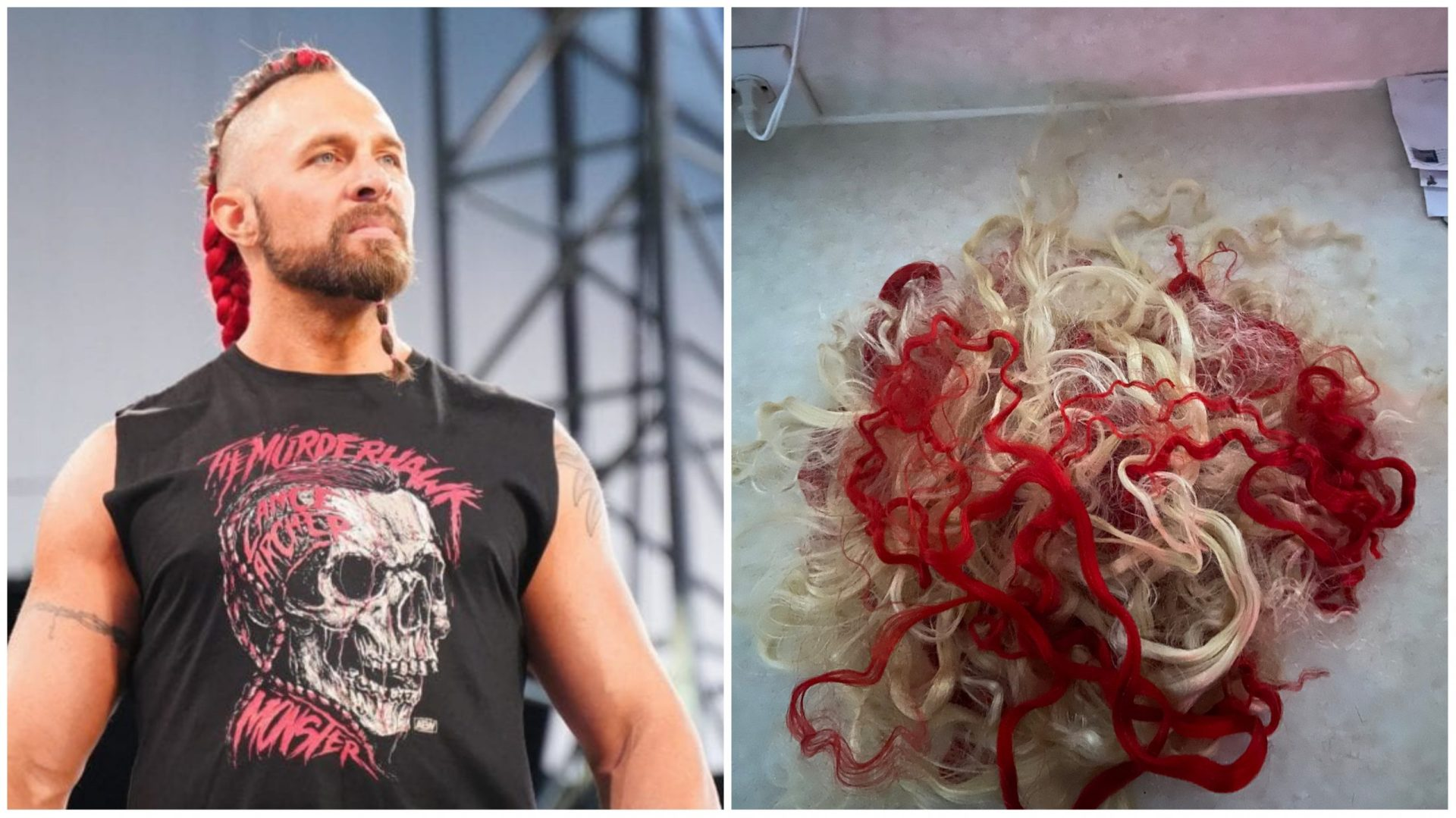 AEW wrestler Lance Archer shakes up his look by ditching his trademark hair - THE SPORTS ROOM