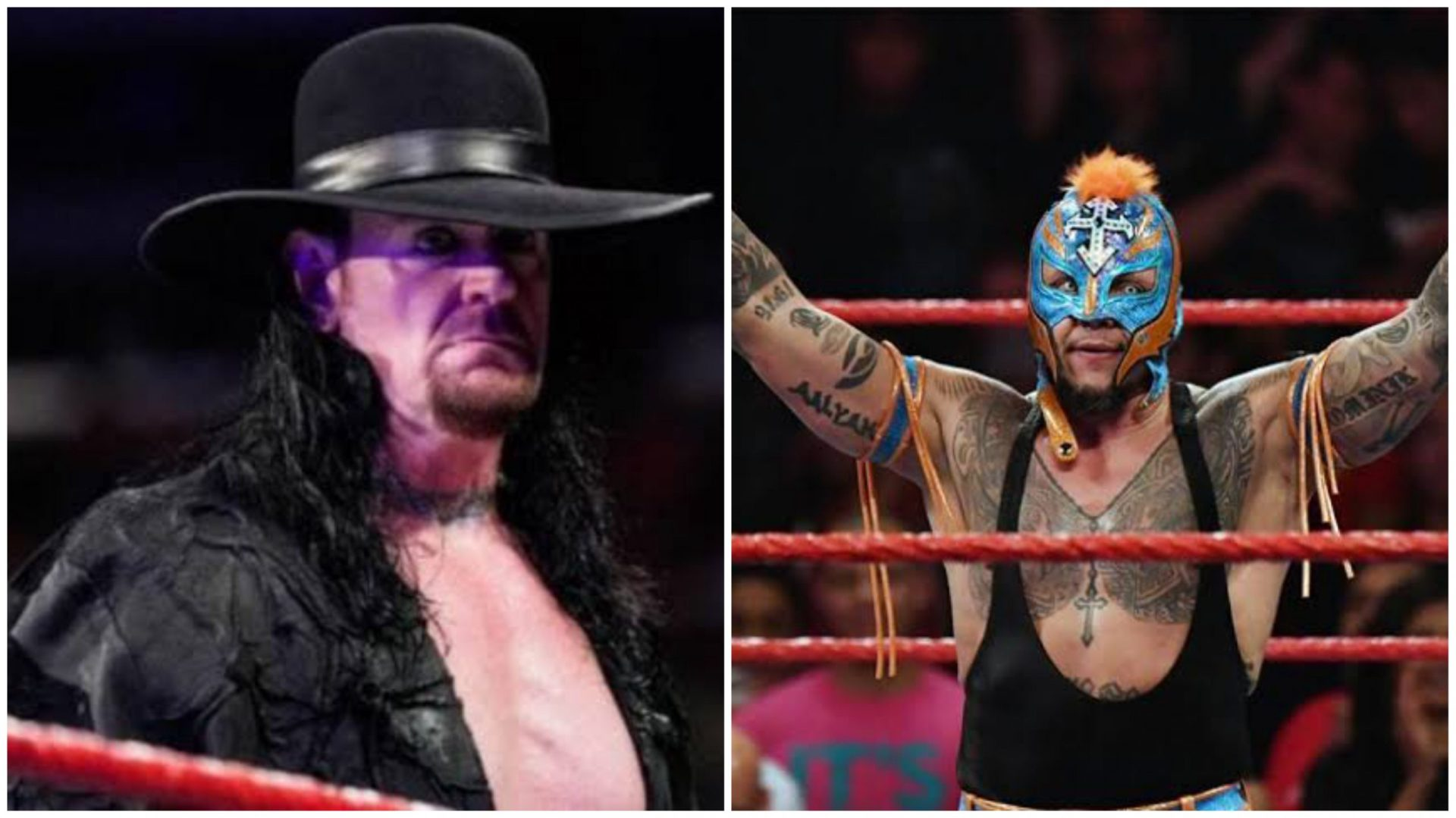 Rey Mysterio speaks about Undertaker, Royal Rumble - THE SPORTS ROOM