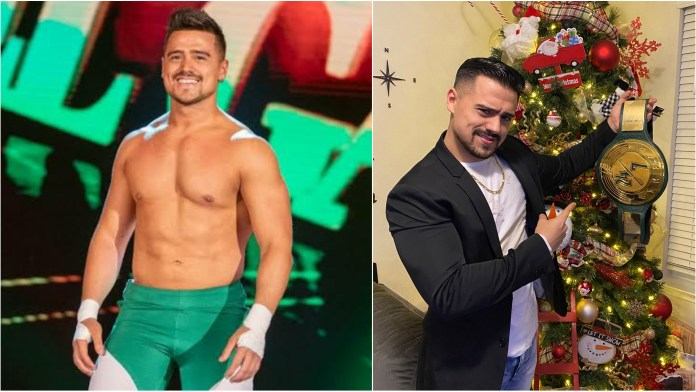 Angel Garza has been crowned the new WWE 24/7 Champion during TikTok USA's live stream - THE SPORTS ROOM