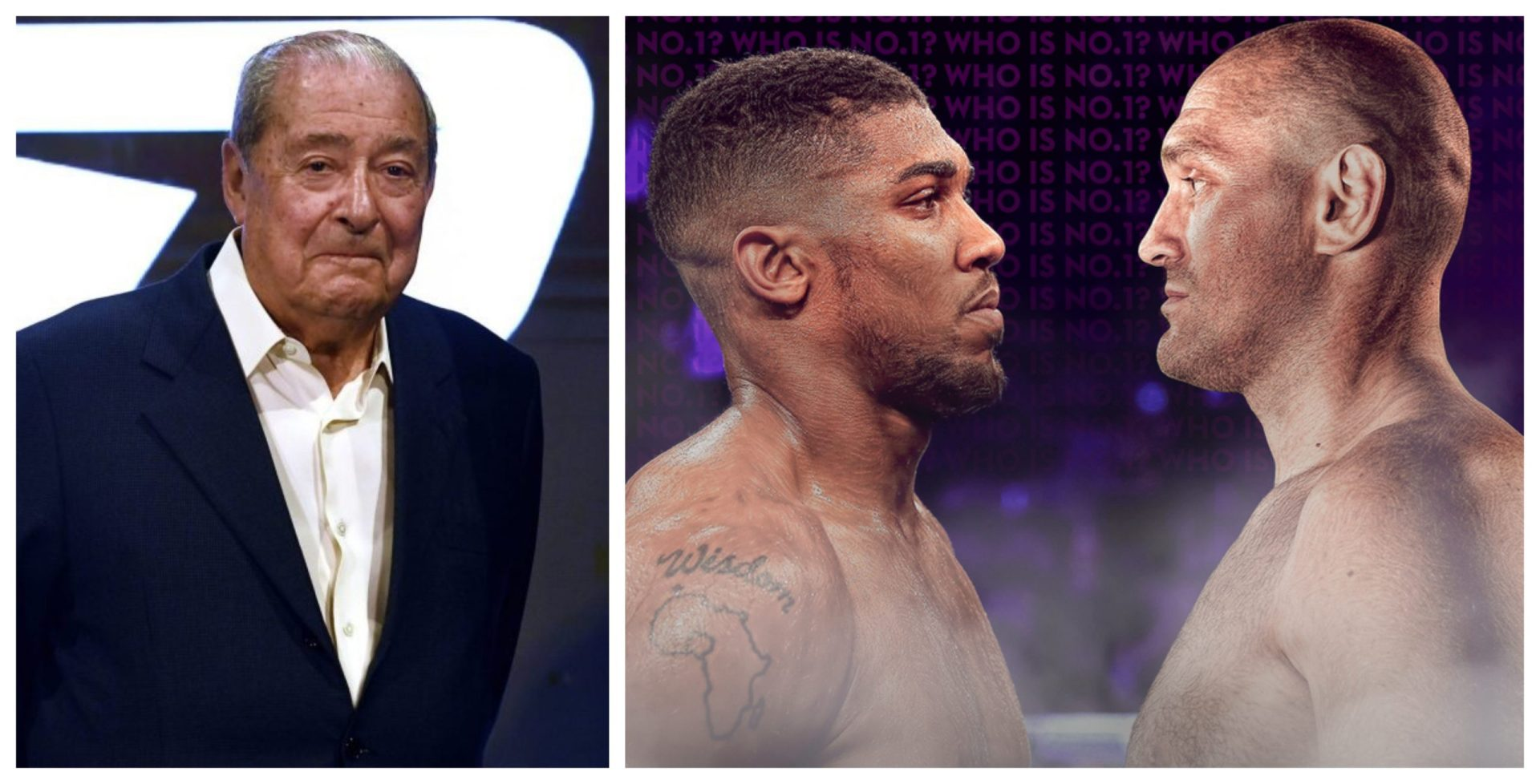 Tyson Fury v Anthony Joshua: Fight location set, both boxers to earn $100 million each, claims Bob Arum - THE SPORTS ROOM